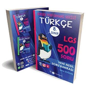 İdol Yayınları 8. Sınıf LGS Türkçe 500 Soru Bankası