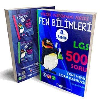 İdol Yayınları 8. Sınıf LGS Fen Bilimleri 500 Soru Bankası