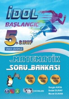 İdol Yayınları 5. Sınıf Matematik Başlangıç Serisi Soru Bankası