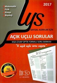 İK10 Yayınları LYS Sayısal Adaylar İçin Açık Uçlu Sorular
