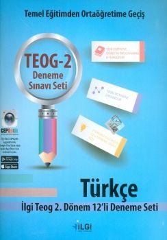 İlgi Okul Yayınları 8. Sınıf TEOG 2 Türkçe 12 li Deneme Seti
