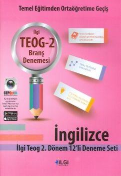 İlgi Okul Yayınları 8. Sınıf TEOG 2 İngilizce 12 li Deneme Seti