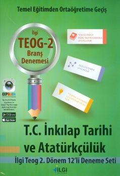 İlgi Okul Yayınları 8. Sınıf TEOG 2 T.C. İnkılap Tarihi ve Atatürkçülük 12 li Deneme Seti