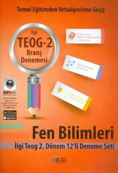 İlgi Okul Yayınları 8. Sınıf TEOG 2 Fen Bilimleri 12 li Deneme Seti