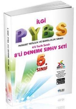 İlgi Okul Yayınları PYBS 5. Sınıf 8 li Deneme Seti