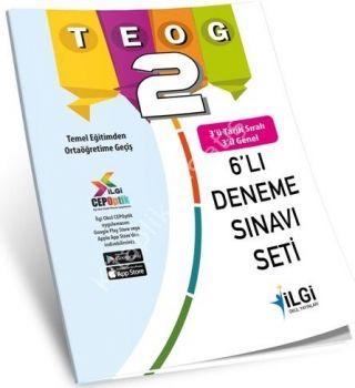 İlgi Okul Yayınları 8. Sınıf TEOG 2 Deneme Seti 6 lı