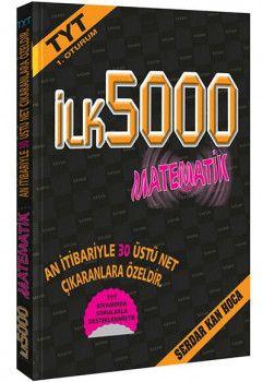 İlk5000 Yayınları YKS 1. Oturum TYT İlk 5000 Matematik Soru Bankası