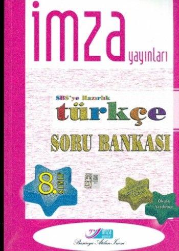 İmza Yayınları 8. Sınıf Türkçe Soru Bankası