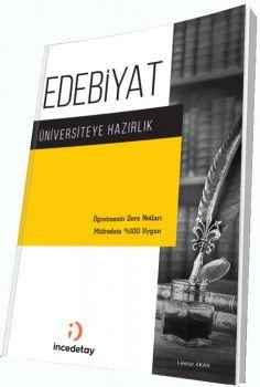 İncedetay Yayınları Üniversiteye Hazırlık Edebiyat El Kitabı
