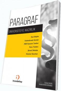 İncedetay Yayınları Üniversiteye Hazırlık Paragraf Soru Bankası
