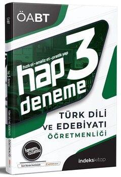 İndeks Kitap 2020 ÖABT Türk Dili ve Edebiyatı Hap 3 Deneme Çözümlü