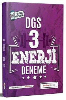İndeks Kitap 2020 DGS Enerji 3 Deneme Çözümlü