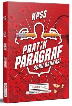 İndeks Kitap 2020 KPSS Pratik Paragraf Soru Bankası