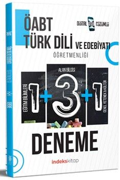 İndeks Kitap ÖABT Türk Dili ve Edebiyatı 5 Deneme Dijital Çözümlü