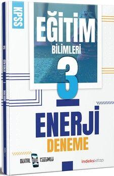 İndeks Kitap 2021 KPSS Eğitim Bilimleri Enerji 3 Deneme Dijital Çözümlü