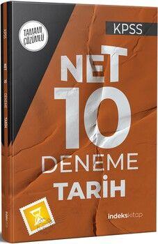 İndeks Kitap 2021 KPSS Tarih Net 10 Deneme Çözümlü