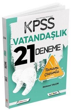 İndeks Kitap 2021 KPSS Vatandaşlık 21 Deneme