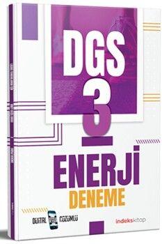 İndeks Kitap DGS Enerji 3 Deneme Dijital Çözümlü