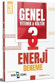 İndeks Kitap KPSS Genel Yetenek Genel Kültür Enerji 3 Deneme