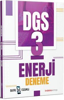 İndeks Kitap2021 DGS Enerji Dijital Çözümlü3 Deneme