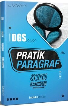İndeks Kitap2021 DGS Paragraf Pratik Soru Bankası