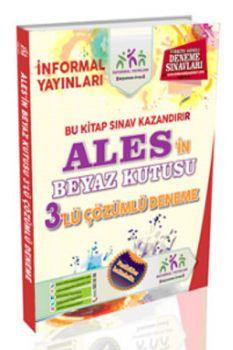 İnformal 2017 ALES in Beyaz Kutusu Çözümlü 3 Deneme Sınavı