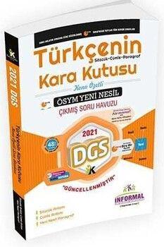 İnformal 2022 DGS Türkçenin Kara Kutusu Anlam Bilgisi 1. Cilt Çıkmış Sorular