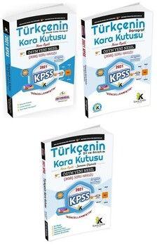 İnformal 2021 KPSS Türkçenin Kara Kutusu 1. 2. 3. Cilt Çıkmış Sorular Soru Bankası 3 lü Set