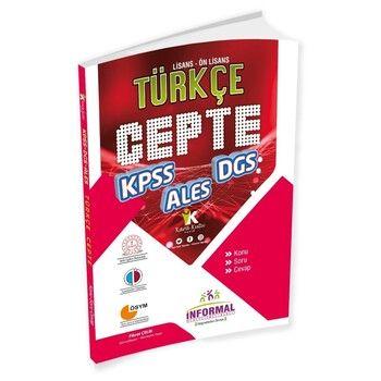 İnformal KPSS DGS ALES Türkçe Cepte Konu Soru Cevap