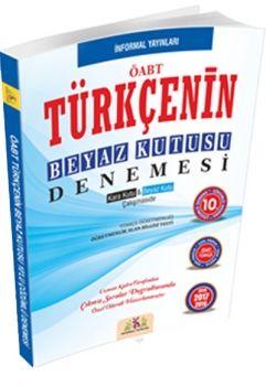 İnformal Yayınları 2017 ÖABT Türkçenin Beyaz Kutusu Çözümlü 10 Deneme Sınavı