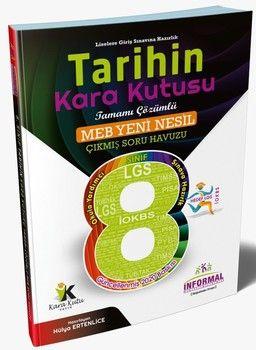 İnformal Yayınları 8. Sınıf LGS Tarihin Kara Kutusu Tamamı Çözümlü Soru Bankası