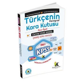 İnformal Yayınları KPSS Türkçenin Kara Kutusu Paragraf Konu Özetli Soru Havuzu 2. Cilt