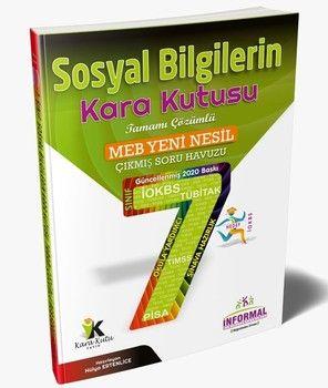 İnformal Yayınları 7. Sınıf Sosyal Bilgilerin Kara Kutusu Tamamı Çözümlü Soru Bankası