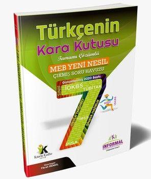 İnformal Yayınları 7. Sınıf Türkçenin Kara Kutusu Tamamı Çözümlü Soru Bankası