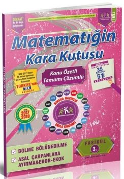 İnformal Yayınları  2017 Matematiğin Kara Kutusu Bölme Bölünebilme Çarpanlara Ayırma Konu Özetli Çözümlü 3.Fasikül