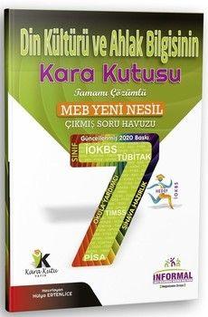İnformal Yayınları 7. Sınıf Din Kültürü ve Ahlak Bilgisinin Kara Kutusu Çıkmış Soru Havuzu