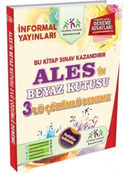 İnformal Yayınları 2017 ALES in Beyaz Kutusu Çözümlü 3 Deneme Sınavı