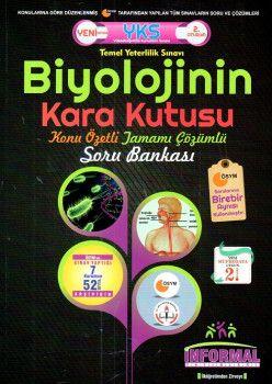 İnformal Yayınları YKS 2. Oturum Biyolojinin Kara Kutusu Konu Özetli Tamamı Çözümlü Soru Bankası