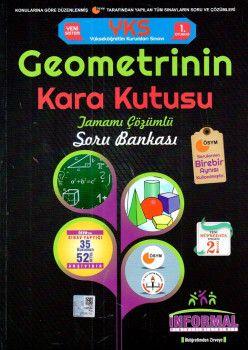 İnformal Yayınları YKS 1. Oturum TYT Geometrinin Kara Kutusu Tamamı Çözümlü Soru Bankası
