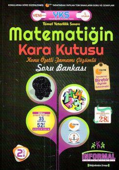 İnformal Yayınları YKS 1. Oturum TYT Matematiğin Kara Kutusu Konu Özetli Tamamı Çözümlü Soru Bankası 2. Cilt