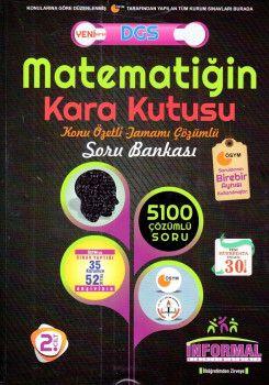 İnformal Yayınları DGS Matematiğin Kara Kutusu Tamamı Çözümlü Soru Bankası 2. Cilt