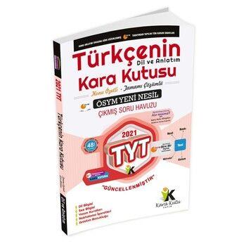 İnformal Yayınları 2021 TYT Türkçenin Karakutusu Dil ve Anlatım Konu Özetli Soru Bankası