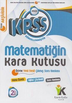 İnformal Yayınları2022 KPSS Matematiğin Kara Kutusu 2. Cilt Konu Özetli Soru Bankası