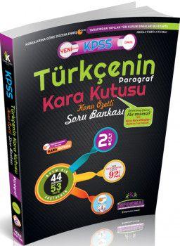 İnformal Yayınları KPSS Türkçenin Kara Kutusu Paragraf Konu Özetli Soru Bankası 2. Cilt