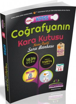 İnformal Yayınları KPSS Coğrafyanın Kara Kutusu Konu Özetli Soru Bankası