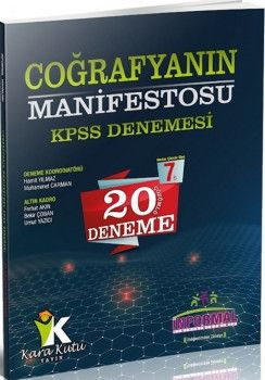 İnformal Yayınları KPSS Coğrafyanın Manifestosu 20 Çözümlü Deneme Sınavı