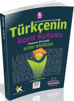 İnformal Yayınları 8. Sınıf Türkçenin Kara Kutusu Tamamı Çözümlü Soru Bankası