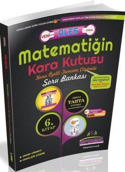 İnformal Yayınları ALES Matematiğin Kara Kutusu Konu Özetli Tamamı Çözümlü Soru Bankası 6. Kitap