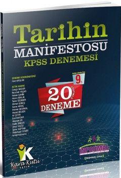 İnformal Yayınları KPSS Tarihin Manifestosu 20 Deneme