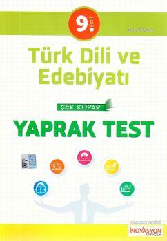 İnovasyon Yayıncılık 9. Sınıf Türk Dili ve Edebiyatı Çek Kopar Yaprak Test